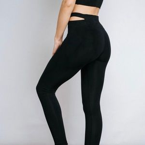 Free Label black leggings XS
